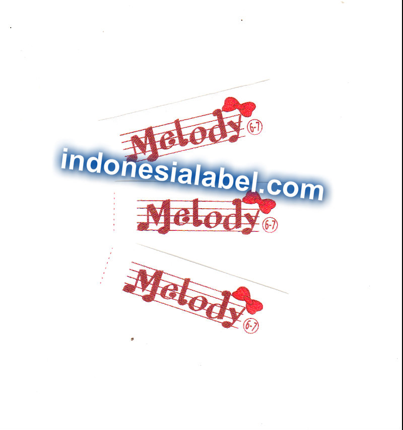 label satin printing Katalog