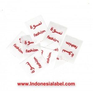 label satin murah